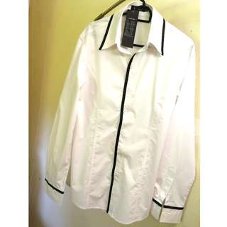 In Style Shirt - White and Black
