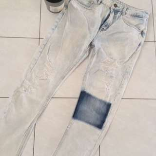Cotton On Boyfriend Ripped Jeans