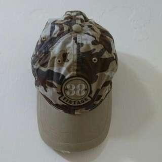 Columbia個性迷彩帽(純棉透氣)
