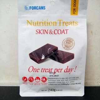 Forcans Nutrition Treats Skin & Coat 240g