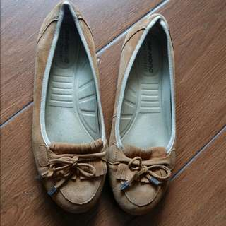 Dr HONG杏色妹仔鞋