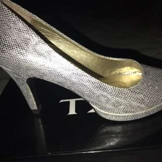 Heels 5cm Fladeo Silver Bling-bling