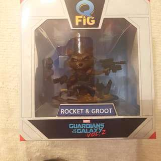 Guardians Of The Galaxy Vol. 2 Rocket And Baby Groot Q-fig
