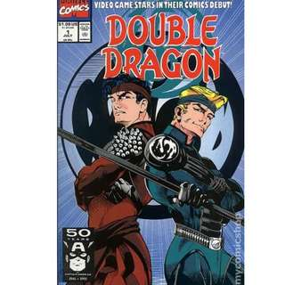 marvel comics Double Dragon (1991) #1 unread bagged boarded