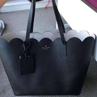 AUTHENTIC KATE SPADE NEW YORK LILY AVENUE CARRIGAN LEATHER TOTES BLACK
