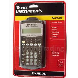 BNIB BA II Plus Financial Calculator CFA Approved FIXED