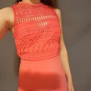Beautiful Bluejuice orange dress