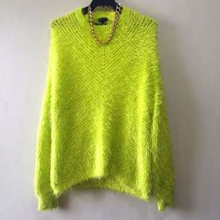 River Island Fuzzy Sweater