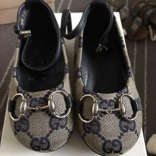 Authentic Gucci Kids Shoes