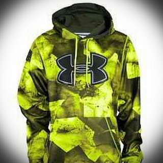 Under Armour Fleece Storm Hoodie Rifle Green Medium