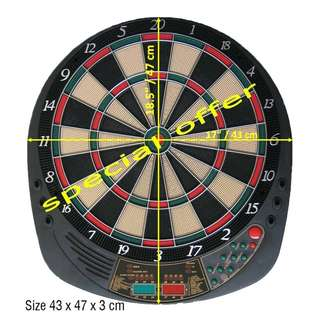 Full Size Electronic Dartboard Without packaging Box