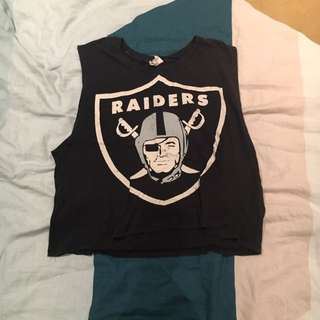 RAIDERS MUSCLE TEE