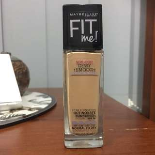 NEW Maybelline Fit Me- Dewy+ Smooth