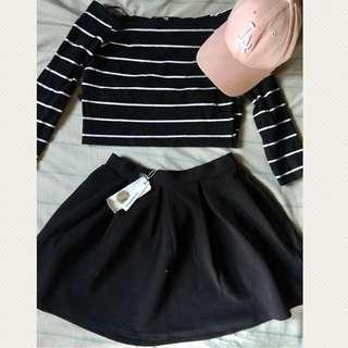 Rustan's Glamorous -Skater Skirt