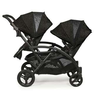 Brand NEW Contours Options Elite Tandem Stroller - Carbon READY STOCK☻💃