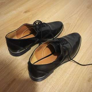 H&M Black Oxford Shoes
