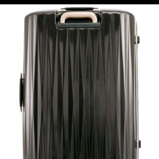 68CM Black Plutus Samsonite Luggage