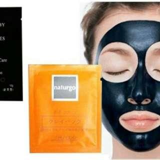 10 Pcs - Masker Naturgo Shiseido - Masker Lumpur Original