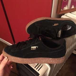 Puma Basket Sneaker (black)