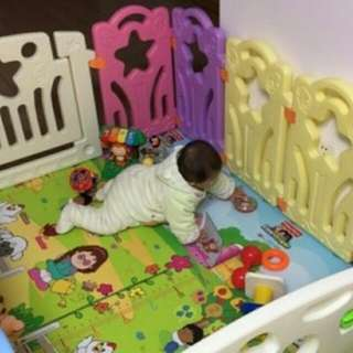 Baby Play Yard Play Pen Baby Fence