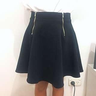 Pure Hype Zipped Skirt