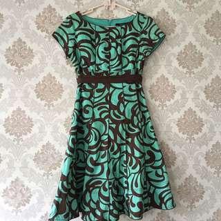 Dress Floral - Minimal