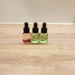 Belif Rose Gemma Concentrate And Peat Miracle Serum Concentrate 6ml