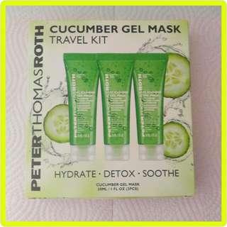 PeterThomasRoth Cucumber Gel Mask 90ml 青瓜啫喱舒緩保濕面膜 全新 Travel Kit 旅行裝 眼部適用 Eye Mask