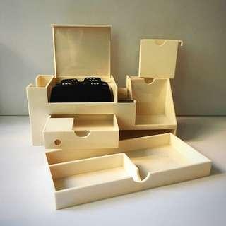 Stationery Storage Box. Stationery Organiser. 文具座 筆座 收納架 收納盒