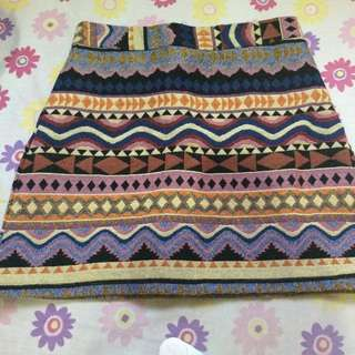 Aztec Skirt (Small)