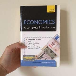 ECONOMICS; A complete introduction