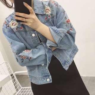 PO: Rose Denim Series: Jacket