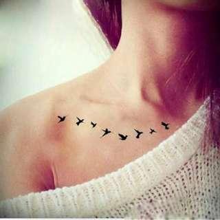 Swallows V2 Tattoo