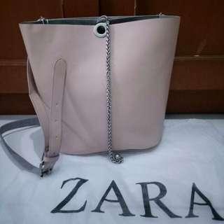 Zara Nude Bag ORI