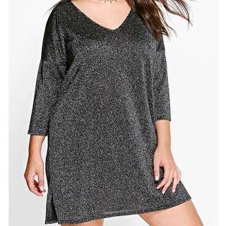 Sparkle 3/4 Sleeve Dress