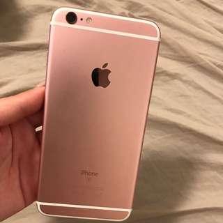 Apple iphone 6sPlus 64g 9成新 女用機 裸機 玫瑰金