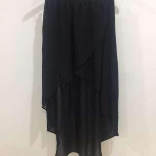 Black Diphem Skirt