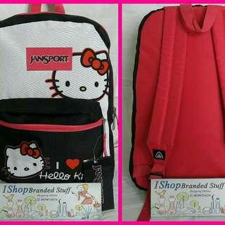 Authentic Jansport Bag - Hello Kitty