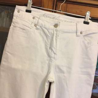 David Lawrence White Jeans Size 8
