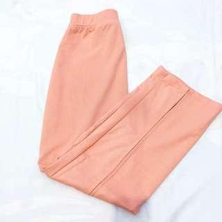 Slit Skirt Peach