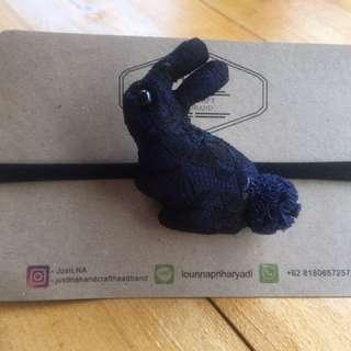 Rabbit Lace (Dark Blue)