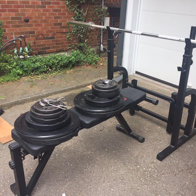 200 Pound Olympic Bench Press