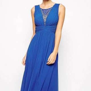 Chi Chi London Grecian Style Maxi Dress