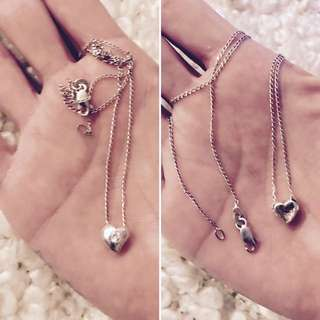 Sterling Silver Necklace (925) 💎