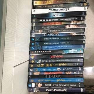 Popular DVD/VCD Titles