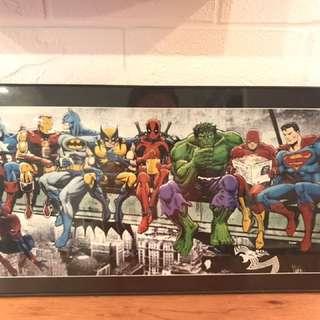 Marvel Heroes Artwork