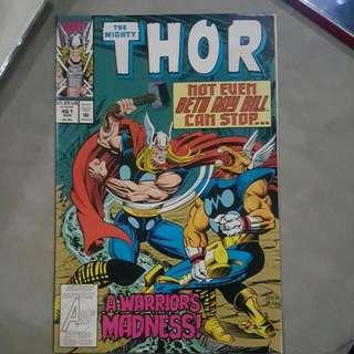1993 Thor Comics *(Pristine Condition)*