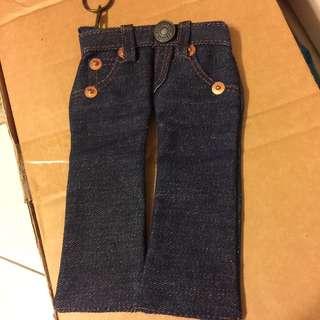 Levi's牛仔褲拉鍊小包