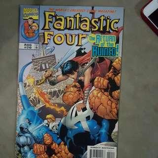 1999 Fantastic 4 Comics *(pristiene Condition)*