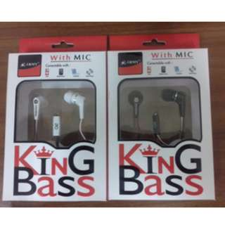 HEADSET ARMY KING BASS